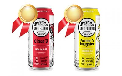 Whitewater Brewing Takes Gold Twice at Ontario Brewing Awards