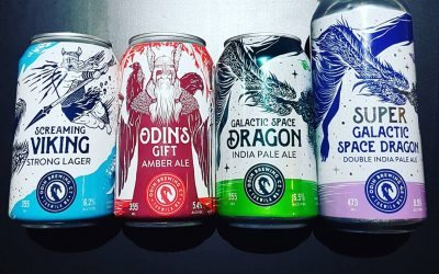 Manitoba shelves now stocking Super Galactic Space Dragons & more!