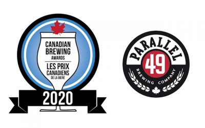 Parallel 49 Brewing Takes Home both Bronze and Gold at Canadian Brewing Awards